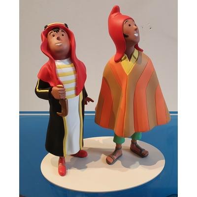 Hergé - Figurine Tintin - Abdallah et Zorrino - Musée imaginaire