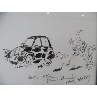 Hardy Marc - dessin original Pierre Tombal