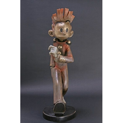 Franquin - grand Spirou en bronze