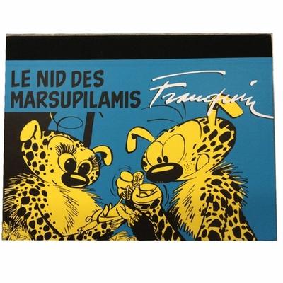 Franquin - portfolio le nid des marsupilamis