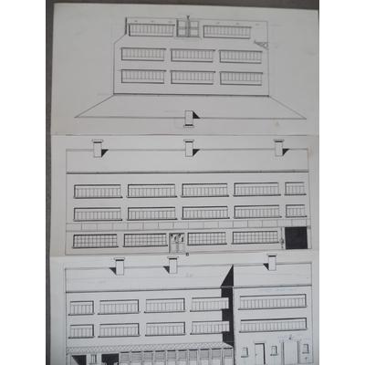Devos Jacques - illustration originale - l'école de Génial Olivier