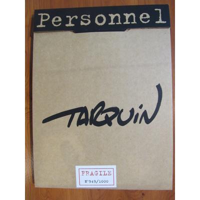 Tarquin - portfolio Personnel signé