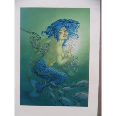 Tillier Béatrice - la sirène