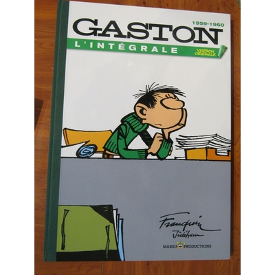 Franquin - Tirage de luxe - Gaston version originale 1959-1960
