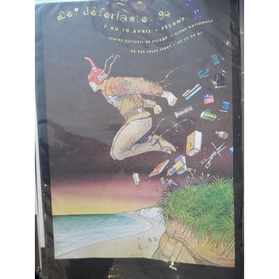 Moebius affiche 1994 grand format