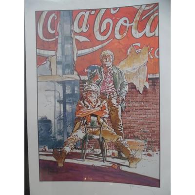 Hermann - Jérémiah pub coca cola