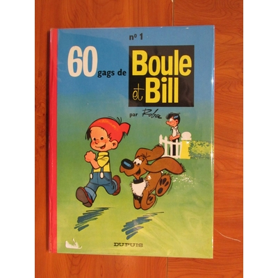 Roba - 60 gags de Boule et Bill T.1 - EO(1962)