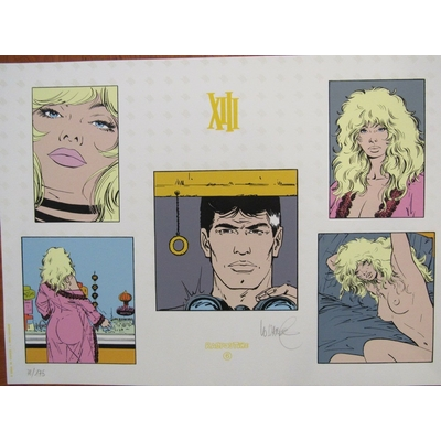 Vance- sérigraphie XIII - Raspoutine - signée