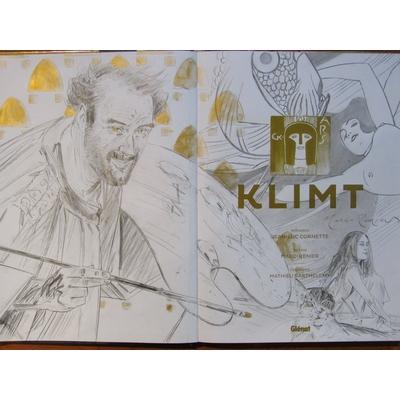 Marc-Renier - 3 dessins originaux - Klimt - EO(2017)