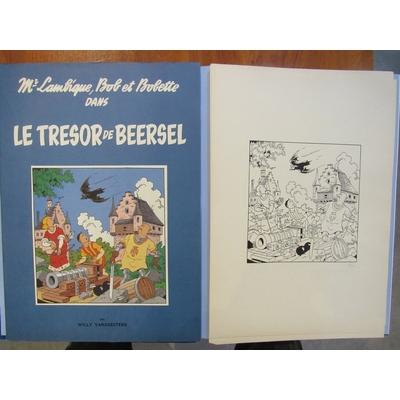 Vandersteen Willy - Bob et Bobette - tirage de luxe + portfolio de 6 sérigraphies - signé