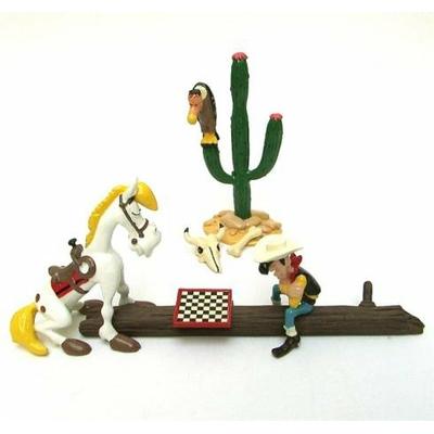 Morris - Lucky Luke - Partie d'echec -Pixi 1998 - signé - BC