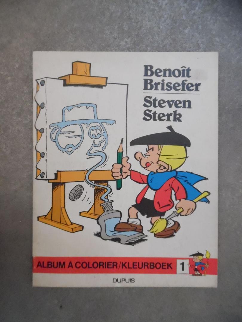 ga85_Benoit Brisefer - album à colorier T.1,T.2,T.4