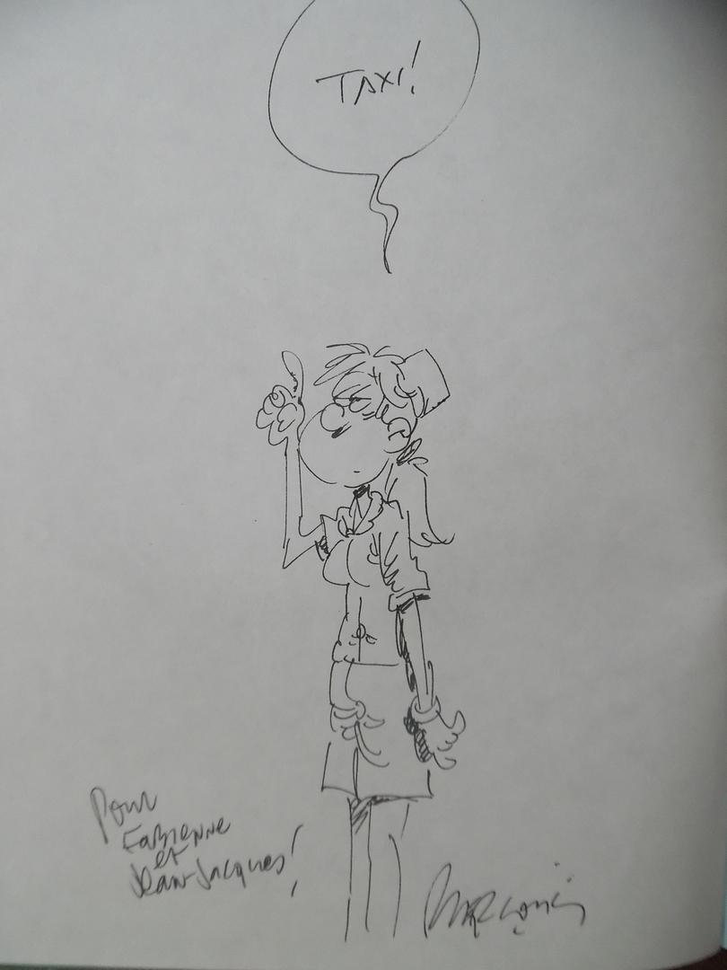 ga168_Dédicace Bercovici - Les femmes en blanc - T.4 eo