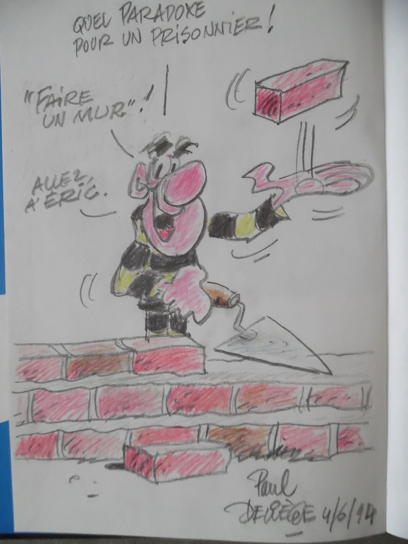 ga175_Dédicace de Deliège - Bobo T.14 EO