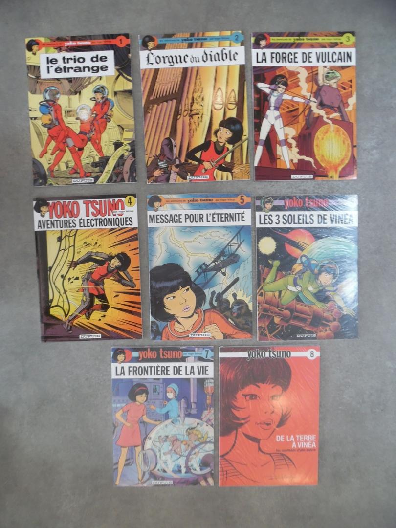 ga229_Leloup R. - 8 BD collector Yoko Tsuno