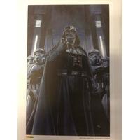 1 lithographie exclusive Star Wars: Dark Vador