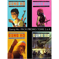 Pack Gung Go : Tome 1 à 4