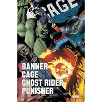 Ghost Rider: mini serie 01. Banner Cage/Ghost Rider/Punisher