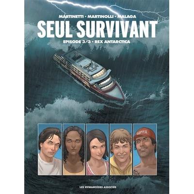 Belgian-Comics-Seul-Survivant-T03-Rex-Antarctica-cover