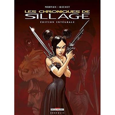 Belgian-Comics-Chroniques-de-Sillage-integrale-cover