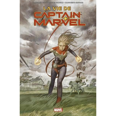 Belgian-Comics-Captain-Marvel-La-vie-de-Captain-Marvel-cover