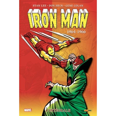 Belgian-Comics-Iron-man-integrale-1961-1966-cover
