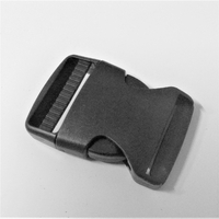 Boucle clip clic clac attache rapide larg. 40 mm