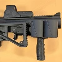 Porte-Grenades 40mm sur rail picatinny pour lanceur LBD