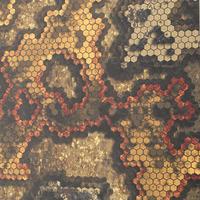 Kydex HexaCam 3D Wasteland épaisseur 080