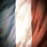 """Kydex® Drapeau Français épaisseur .080"""""""