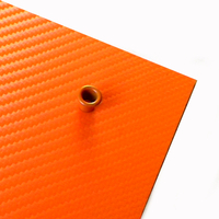Holstex® Hunter Orange Carbon épaisseur .080""
