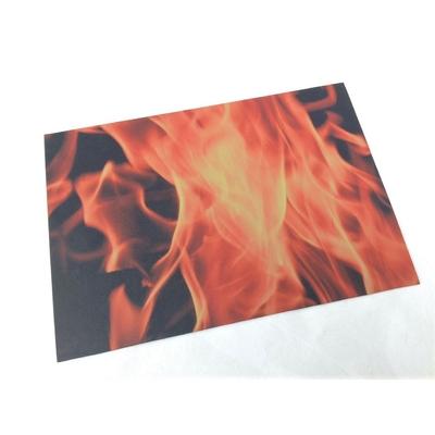 camo flammes jaunes plaque etfr kydex