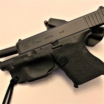 holster de pontet glock 26 etfr kydex france inside minimaliste iwb