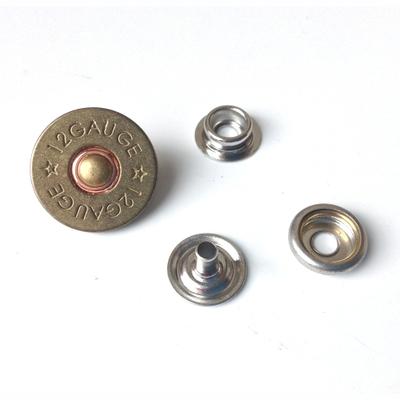 bouton pression cal 12 3