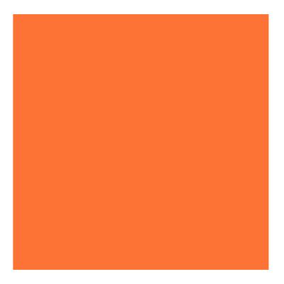 Kydex T P1 Hunter Orange épaisseur 080