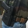 holster etfr france kydex glock 17 cigogne pancake noir