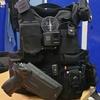 holster pro level 2 police gendarmerie sp 2022 lampe olight pl mini valkyrie etfr kydex france gilet molle