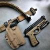 ceinture de force cobra coyote armée etfr france tactique armée de terre opex strasbourg tir holster kydex