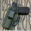fantome holster iwb kydex od green olive drab etfr france glock 17 gaucher