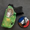 inside discret holster etfr iwb kydex france napoleon infused custom glock 26