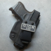 compact glock 26 iwb inside concealed carry france gign afp