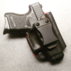 compact glock 26 iwb inside concealed carry france police cuir