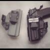 holster kydex fantome police gendarmerie glock sp 2022 etfr france plaquette plaque service fomi clip inside iwb