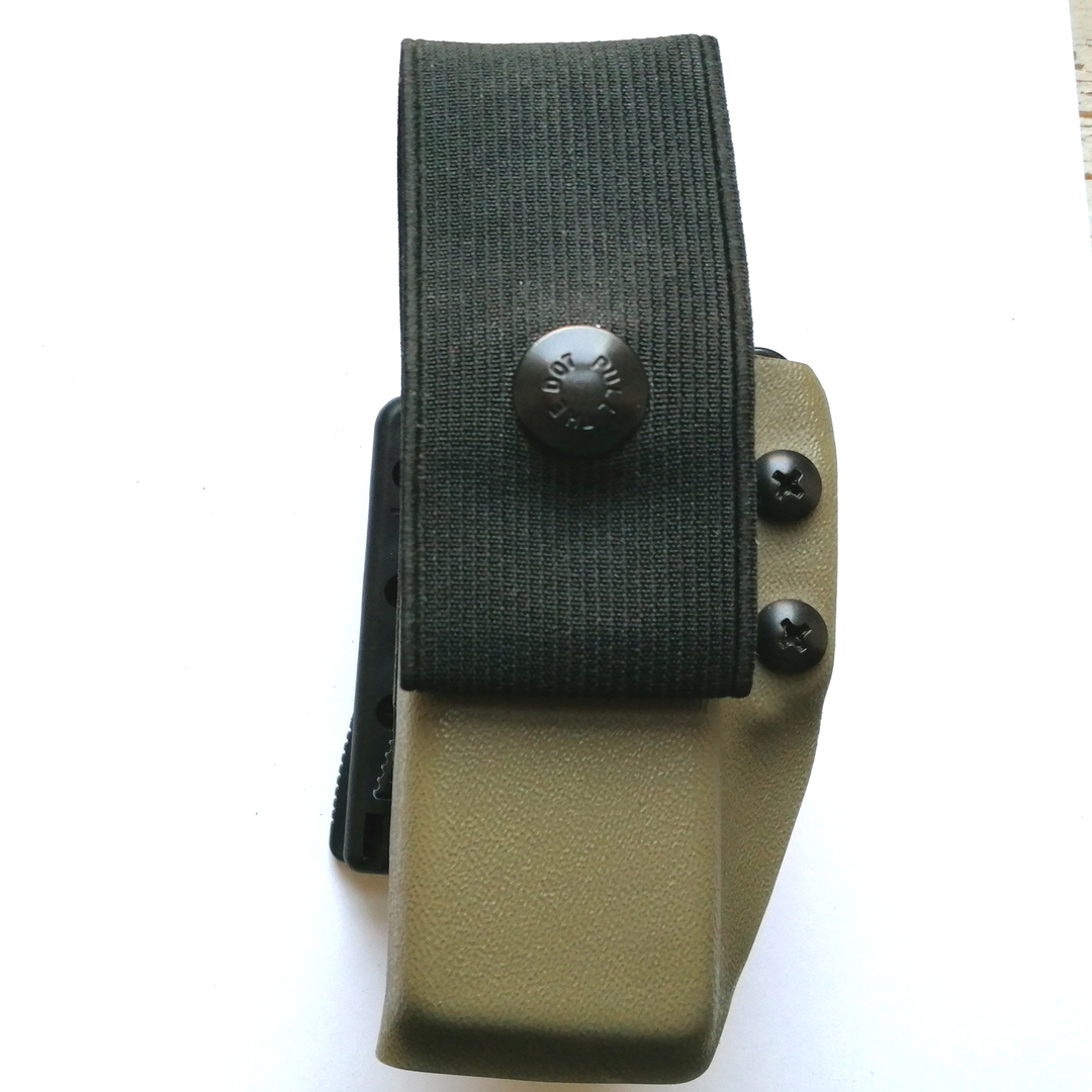 porte chargeur Pro owb pamas glock 17 G17 rotatif rapide attache ultilink ulticlip etfr france kydex 2