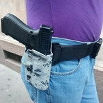 holster engaged etfr france kydex urban camo glock 17 - Copie