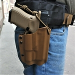 holster wifot etfr kydex coyote glock 19 olight Pl-2 valkyrie france ceinture combat molle