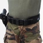 ceinture intervention police gendarmerie molle france etfr holster 50mm sous ceinturon confort 70mm