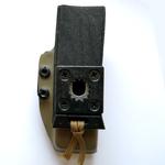porte chargeur Pro owb pamas glock 17 G17 rotatif rapide attache ultilink ulticlip etfr france kydex