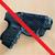 holster sacoche à bandouilière velcro police gendarmerie glock 26 option etfr france non