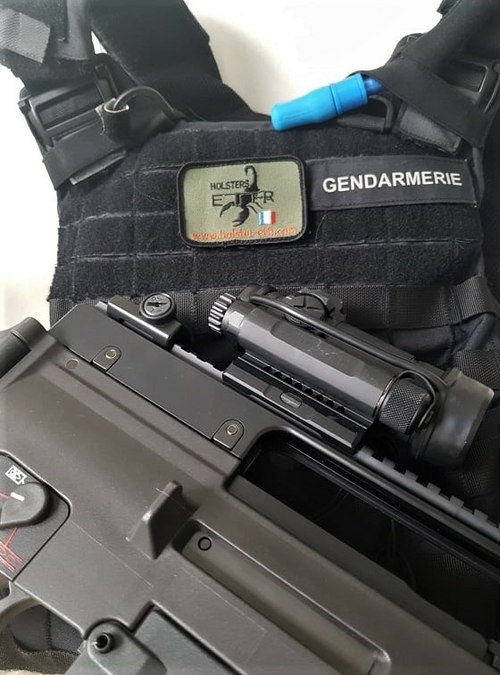 gendarmerie g36 ecusson patch etfr kydex holster france gilet pare balle